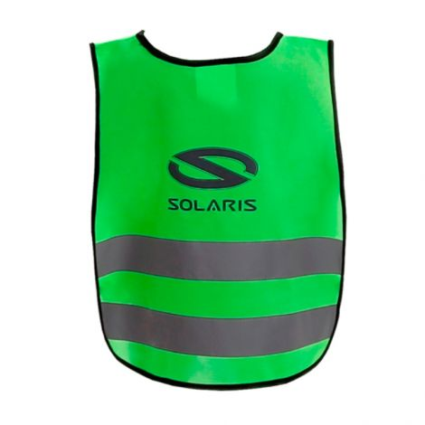 High-visibility vest green